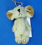 Click here to enlarge image and see more about item n01795: Miniature Plush Mouse