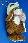 Click here to enlarge image and see more about item n01801: Miniature Plush Bunny Rabbit