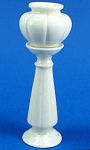 Click here to enlarge image and see more about item n01813: Dollhouse Miniature Porcelain Jardiniere and Pedestal