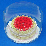 Click here to enlarge image and see more about item n01858: Dollhouse Miniature Cake