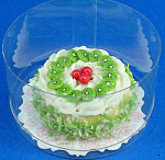 Click here to enlarge image and see more about item n01860: Dollhouse Miniature Cake