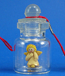 Click here to enlarge image and see more about item n01907: Klima Miniature Angel in a Bottle