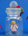 Click here to enlarge image and see more about item n01908: Miniature Angel in a Bottle