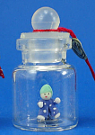 Click here to enlarge image and see more about item n01917: Miniature Clown Doll in a Bottle