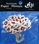 Click here to enlarge image and see more about item n01937: Miniature Paper Flowers