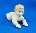 Click here to enlarge image and see more about item n02171: Miniature Bisque Dollhouse - Baby