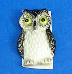 Click here to enlarge image and see more about item n02244: K851 Flat Stick-on Decoration Owl