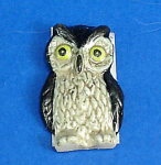 Click here to enlarge image and see more about item n02245: K851 Flat Stick-on Decoration Owl