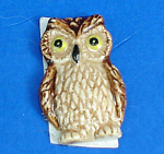 Click here to enlarge image and see more about item n02246: Klima K851 Flat Stick-on Decoration Owl