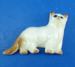 Click here to enlarge image and see more about item n02310: K268 Porcelain Cat Magnet
