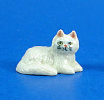 Click here to enlarge image and see more about item n02360: K999 Tiny Lying Persian Cat