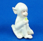 Click here to enlarge image and see more about item n02398: K654 White Monkey