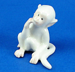 Click here to enlarge image and see more about item n02399: K654 White Monkey