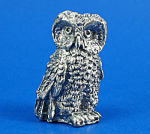 Click here to enlarge image and see more about item n02414: Klima T112 Miniature Metal Owl