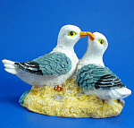 Resin Seagull Pair Figurine