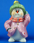 Click here to enlarge image and see more about item n02440: Resin Snowman Ornament