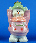 Click here to enlarge image and see more about item n02441: Resin Snowman Ornament