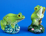 Miniature Frog Pair