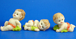 Click here to enlarge image and see more about item n02471: Klima Miniature Baby Trio