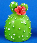 Click here to enlarge image and see more about item n02584: Dollhouse Miniature Yard Cactus