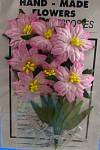 Click here to enlarge image and see more about item n02610: Miniature Paper Flowers