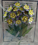 Click here to enlarge image and see more about item n02611: Miniature Paper Flowers