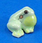 Click here to enlarge image and see more about item n02669: K999 Tiny Miniature Bullfrog Croaking