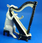K6713 Sheep with Harp
