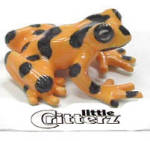 Click here to enlarge image and see more about item n03259: little Critterz LC315 Golden Frog