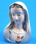 Click here to enlarge image and see more about item p00395: Ceramic Madonna
