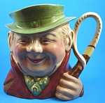 Click here to enlarge image and see more about item p00397: Large Beswick Tony Weller Toby Jug, 281