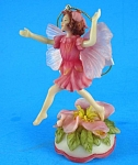 Click here to enlarge image and see more about item p00408m: Musical Fairy Ornament