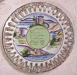 Click here to enlarge image and see more about item pt00030: Small Ireland Souvenir Plate