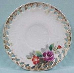 Click here to enlarge image and see more about item pt00033: Children's Dish, Lace Edge Saucer