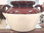 Click here to enlarge image and see more about item pt00044: McCoy Bean Pot, no lid