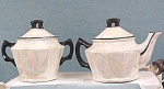 Click here to enlarge image and see more about item pt00154: Czechoslovakia Cream/Sugar Set