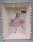 Click here to enlarge image and see more about item pt00300: California Cleminsons Ballerina Wall Hanger