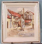 Click here to enlarge image and see more about item pt00301: Vanderwood Oliver Twist Wall Hanger Plate