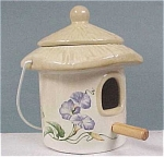 Click to view larger image of 1980s Telefloral Bird House Jar (Image1)