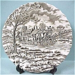 Click here to enlarge image and see more about item pt00358: Staffordshire Ironstone Royal Mail Plate