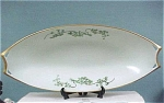 Click here to enlarge image and see more about item pt00359: Hutschenreuther Josephine Favorite Celery Dish