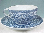 Click here to enlarge image and see more about item pt00362: Delicate Pheonix Bird Cup and Saucer