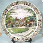 Click here to enlarge image and see more about item pt00364: Ashland Plate, Henry Clay House in Lexington