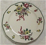 Click here to enlarge image and see more about item pt00390: Royal Doulton Old Leeds Sprays Small Plate