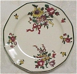 Click here to enlarge image and see more about item pt00391: Royal Doulton Old Leeds Sprays Small Plate