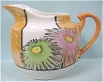 Click here to enlarge image and see more about item pt00413: 1930s/1940s Japan Lustre Creamer
