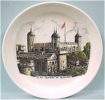 Click here to enlarge image and see more about item pt00431: Tower of London Coaster Plate