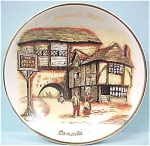 Click here to enlarge image and see more about item pt00448: Canada Souvenir Pin Dish