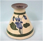 Click here to enlarge image and see more about item pt00485: England Miniature Devonshire Violets Vase