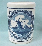 Delft Toothpick Holder